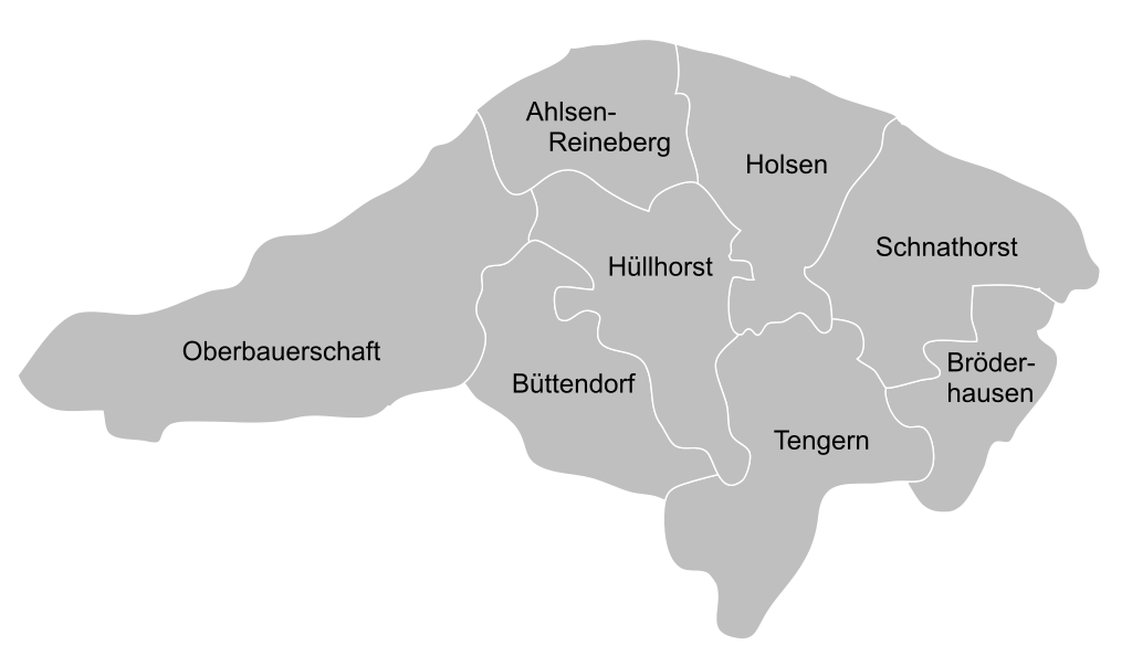 Gemeindekarte